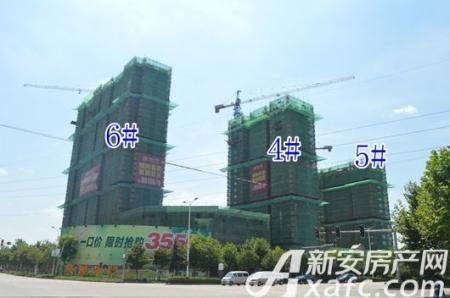 乐泽鑫城工程进度