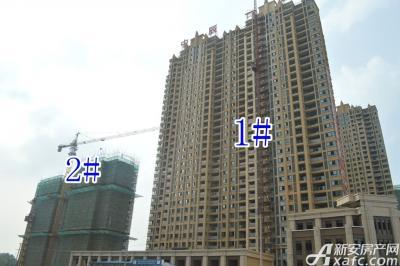 中辰一品中辰一品7月项目进度 2#楼建至地上16层