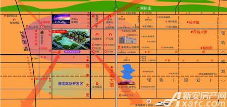嘉华国际台湾城交通图