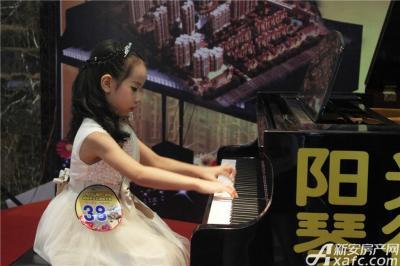 柏庄香域8月8日  柏庄香域少儿钢琴大赛—小公主演奏曲