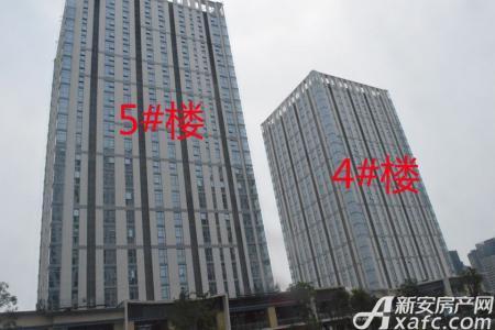 芜湖镜湖万达广场二期实景图