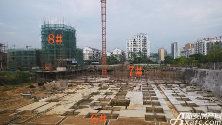 金坤雍景园工程进度