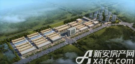 中国供销全椒农产品物流园效果图