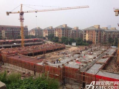 淮北凤凰城8月项目进度