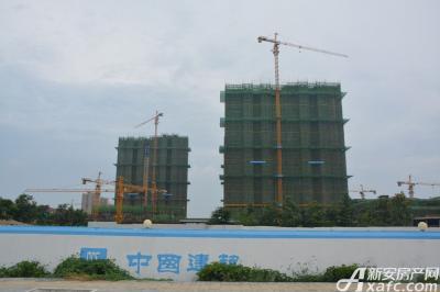 宿州万达广场宿州万达广场8月项目进度3-4#楼建至地上8层