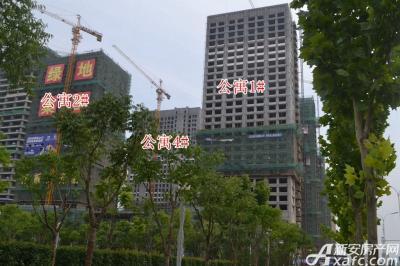 绿地中央广场绿地中央广场8月项目进度