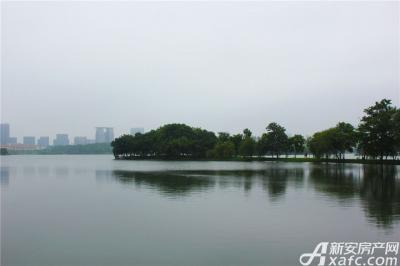 天景庄园天井湖