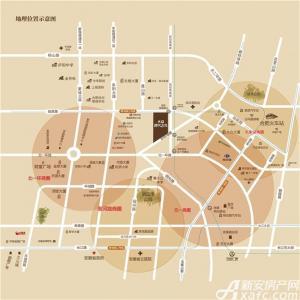 大众时代之光交通图