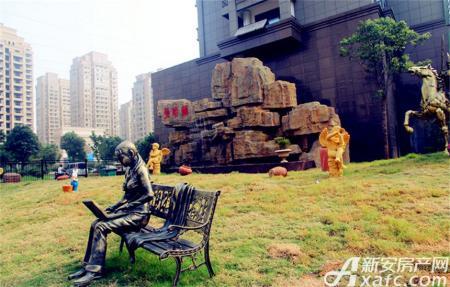 曼哈顿MOMA国际社区实景图