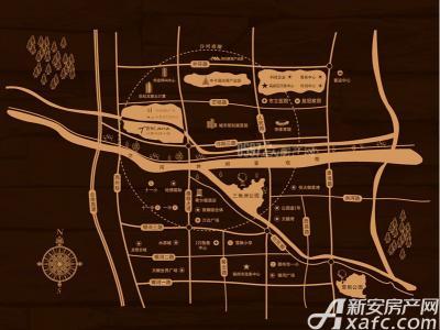 托斯卡纳小镇交通图