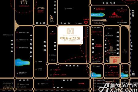 中环云公馆交通图