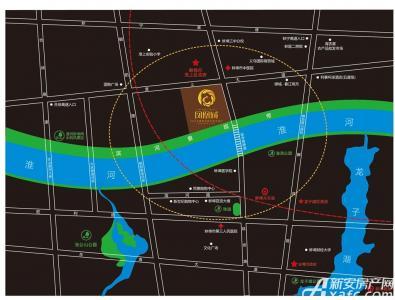 明珠广场凤凰城交通图