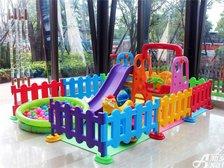 恒大绿洲恒大绿洲售楼中心—小型儿童乐园