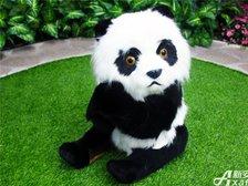 恒大绿洲恒大绿洲售楼中心—仿真园林的大熊猫