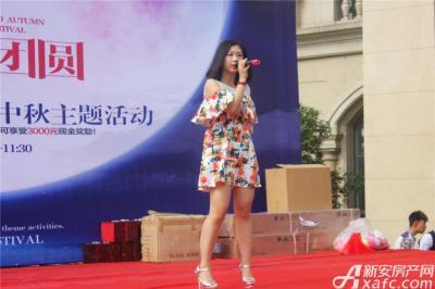 天景庄园业主答谢会暨中秋主题活动—歌曲演唱(2015.09.26 )