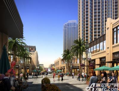 和顺名都城商业内街内部街景