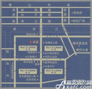 新城时代大厦交通图