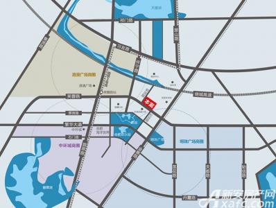 天润国际大厦交通图
