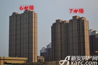 胜锦尚城国际完善绿化带与配套设施