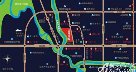 金龙国际交通图