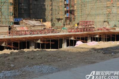 乐泽鑫城华纳橡树湾10月工程进度
