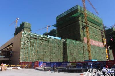 宿州万达广场宿州万达广场10月工程进度