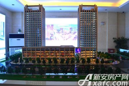 金悦IFC国际金融中心实景图