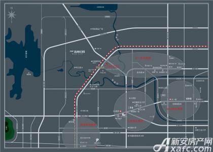 万科中心交通图