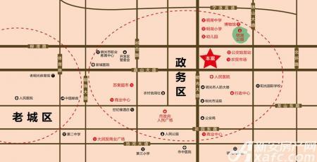 辰龙幸福里交通图