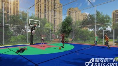 和顺名都城复合型篮球羽毛球馆