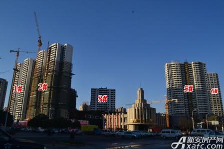 蚌埠百乐门文化经贸广场工程进度