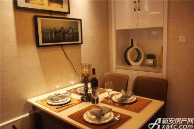 高速铜都天地K2户型样板间餐厅