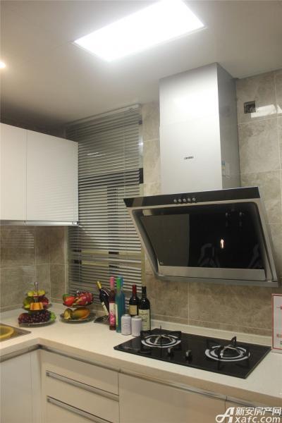 高速铜都天地K2户型样板间厨房