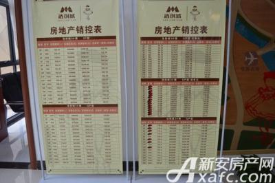浩创城浩创城天雅居12月3#5#销控表