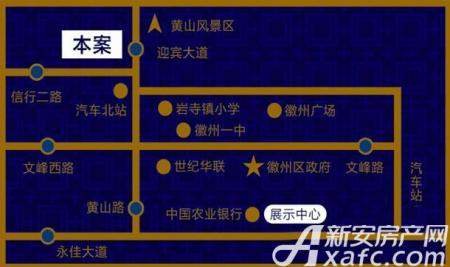 永吉凤凰城交通图