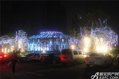 恒大绿洲恒大绿洲圣诞party—精心装扮的售楼中心