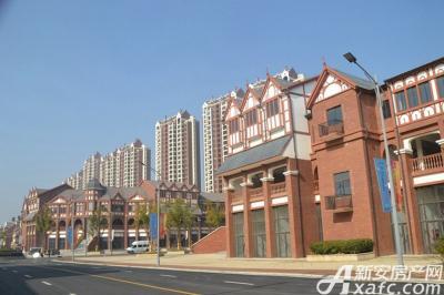 高速云水湾商业街景