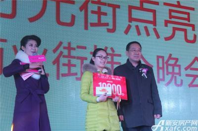 中航长江广场中航时光街点亮仪式终极大奖获得者(2015.12.24)