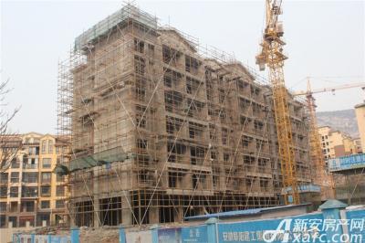 淮北凤凰城1月项目进度