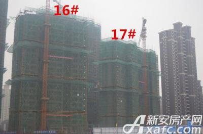 大发宜景城2015年12月工程进度