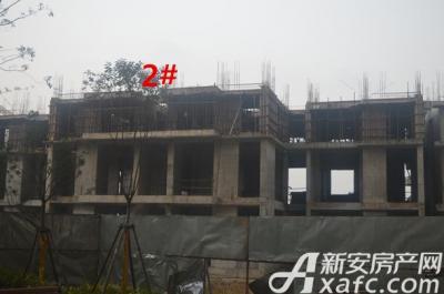 汇峰广场2016年1月份 2#工程进度