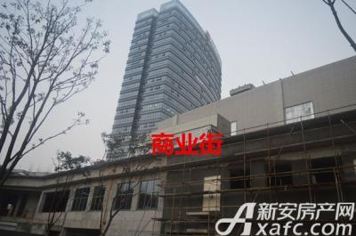 汇峰广场2016年1月份 商业街工程进度