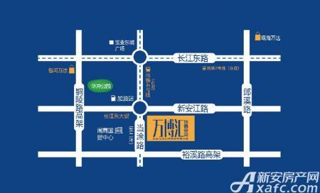 万博汇交通图