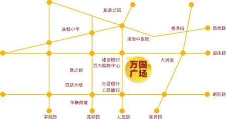 万国广场交通图