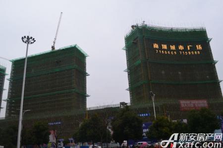 南翔城市广场工程进度