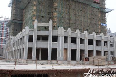 乐泽鑫城华纳橡树湾1月工程进度