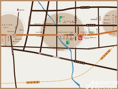 长安东郡交通图