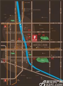 文一名门名城交通图