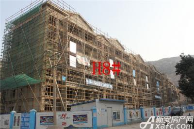 淮北凤凰城2月项目进度:H8#