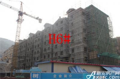 淮北凤凰城2月项目进度:H6#